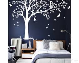 maple tree tree leaves birds wall decal tree leaves birds wall decal for bedroom office vinyl