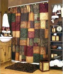 lodge curtains log cabin shower curtains cabin shower curtains curtain hooks rustic lodge 9 design with