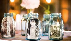 Decorated Mason Jars For Weddings 60 Ways to Use Mason Jars for Your DIY Weddings Tulle Chantilly 2