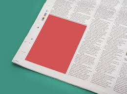 Full Page Newspaper Ad Template 20 Best Newspaper Mockups Psd Downloads