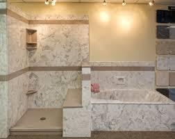 manstone tub and shower surround