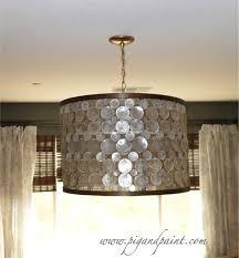 furniture surprising capiz chandelier rectangular 22 round natural white for elegant dining room lighting decoration amazing