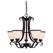 savoy house willoughby 5 light chandelier in english bronze