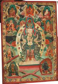 large cloth wall hanging tibetan buddhist wall painting on large tibetan wall art with buddhist temple wall hangings