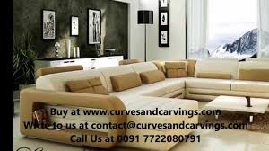 Buy Designer Luxury Sofas online in India - YouTube