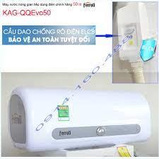 Máy nước nóng Ferroli 50 lít KAG-QQEvo50, bình nước nóng gián tiếp QQ Evo  50 lít chống giật hiệu suất sử dụng tốt - Máy nước nóng