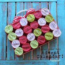 Countdown Roll Chart Holder Tp Roll Christmas Countdown Advent Calendar