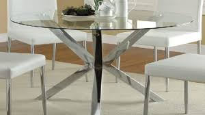 cool idea glass top dining table round 8