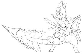 Coloring Pages Legendary Pokemon Coloring Pages Rayquaza Online M
