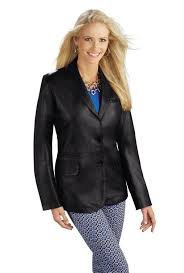 las classic 2 on lambskin leather blazer