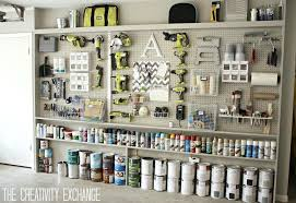 garage pegboard installation ideas wall