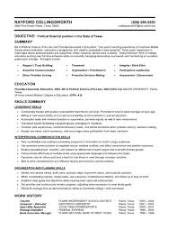 Functional Resume Sample Whitneyport Daily Com