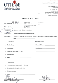 free emergency room doctors note best photos of emergency room doctors note work excuse