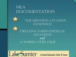 The Mention Citation Sandwich Creating A Bibliography An Lscc