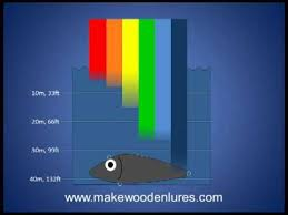 Fishing Lure Color Selection Part 2 Depth Affects What Colors Fish Can See
