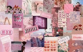 Aesthetic Baddie Collage Desktop ...