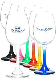 colored wine glasses waterford crystal