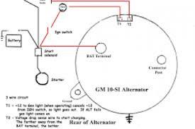 basic gm alternator wiring diagram wiring diagram gm 2 wire alternator wiring diagram at Basic Chevy Alternator Wiring Diagram