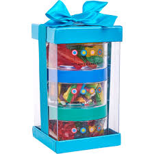dylan s candy bar stack a round gummy signature gift 3 pc set