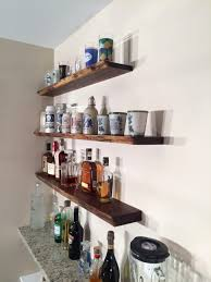 amusing styles diy bar shelves photos concept glorious wall mounted decorative slim floating lighted 970 1293 11