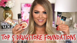 top 5 foundations 2017