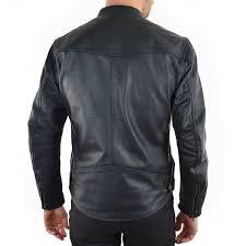 rsd walker leather jacket black back