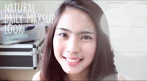 natural daily makeup without eyeshadow work or tutorial for beginner you