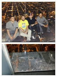 man climbs chicago skyser with bionic leg