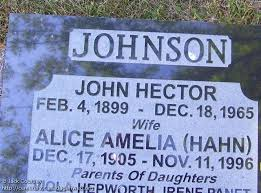ON: Elmwood United Church Cemetery (John Hector JOHNSON), CanadaGenWeb's  Cemetery Project