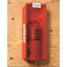 Fire Equipment Cabinet Brooks Equipment Indoor Outdoor Fire Extinguisher Cabinet Red