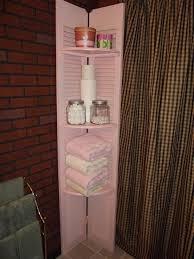 shelf made from old shutter closet doors craft ideas