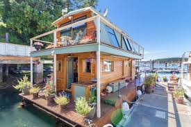 Small Picture Seattle Houseboat For Sale Small Home Listings Small Homes For