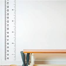 Wall Decor Ruler Wall Sticker Wall Decor Color And Painting
