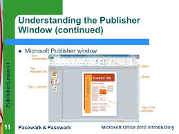Ms Office Publisher Publisher Lesson 1 Microsoft Publisher Basics Ppt Download