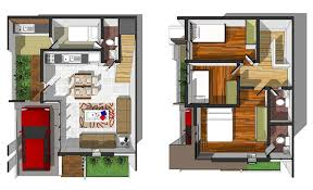 sensational design 2 y 3 bedroom house philippines 1 two residential floor plan on modern decor