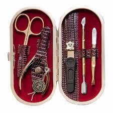 <b>Маникюрный набор Zinger MSFE-701-G</b> - Банькофф