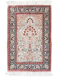 persian garden silk hand made area rug 2 by 3