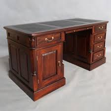 antique home office desk. Solid Mahogany Home Office Desk 5 Drawers Antique Reproduction Design Pre-Order E
