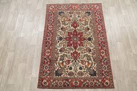 consigned antique oriental bakhtiari persian style hand made area rug 6 9 x4 6 traditional area rugs by rugsource inc