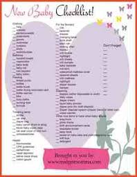 list of items needed for baby baby supplies list proposalsheet com