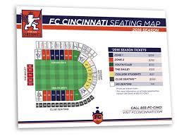 Fc Cincinnati Stadium Seating Chart Matt Crone Design
