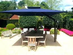 outdoor umbrella tablecloth round patio stand alone large size offset umbrellas full of best tablecl