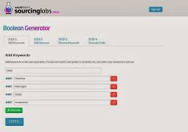The Recruiter S Today Boolean Search Generator
