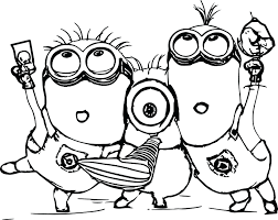 Minion Coloring Pages Printable Image Story Good Samaritan Page Ruva