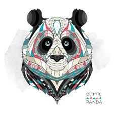 Cool Panda Designs Patterns Gallery Layerplay Indian Tattoo Design Panda