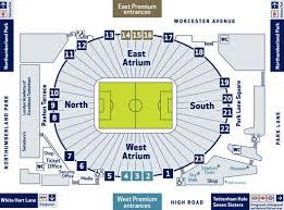 Spurs Stadium Seating Chart 42 Methodical Spurs Seating Map