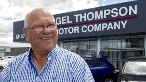 former kiwis coach frank endacott and his son shane now run nigel thompson motor pany