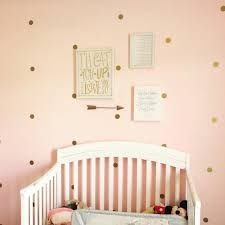 gold polka dot wall decal nursery decor bedroom wall decals
