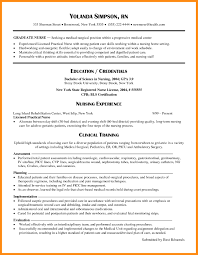 Resume Samples 2017 Nursing Resume Samples New Grad Resume Examples 100 New Graduate 54