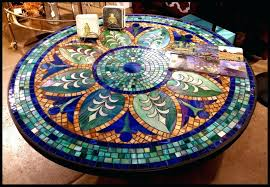 mosaic table top mosaic tile table top designs diy mosaic round table top
